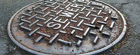manhole clearing